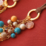 Get started! Create boho necklaces and earrings with glass beads