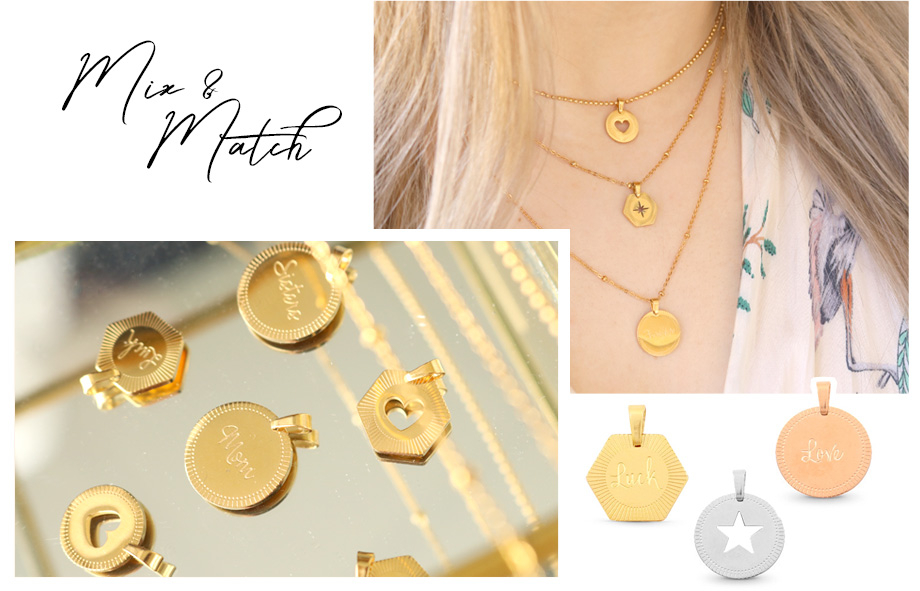 The best addition to your collection: Mix & Match necklaces afbeelding